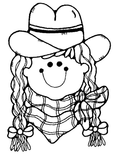 cowgirl coloring page cartoon cowgirl images clipart best