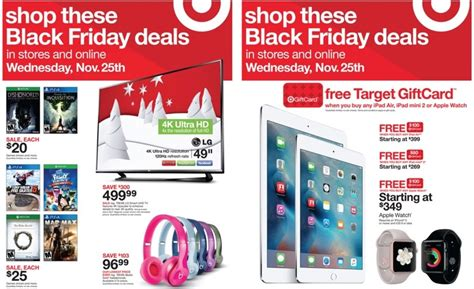 Target Gift Card Sale Black Friday - target s black friday early access sale now live with discounts on apple watch ipad
