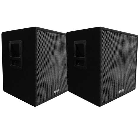 Flux Nex 10 4 Subwoofer Pasif evolution audio el 15 sub passive 600 watt subwoofer