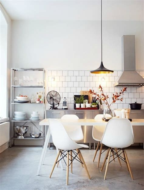 Eames Chair Dining Room Dining Room Kitchen Eames Chair Furniture Pinterest