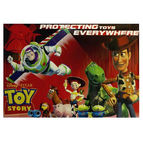 toy story  disney pixar protecting toys  poster