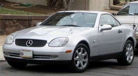 2001 mercedes slk class information and photos