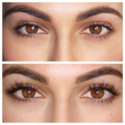 best looking eyelashes dramatic eyelash extensions before and after