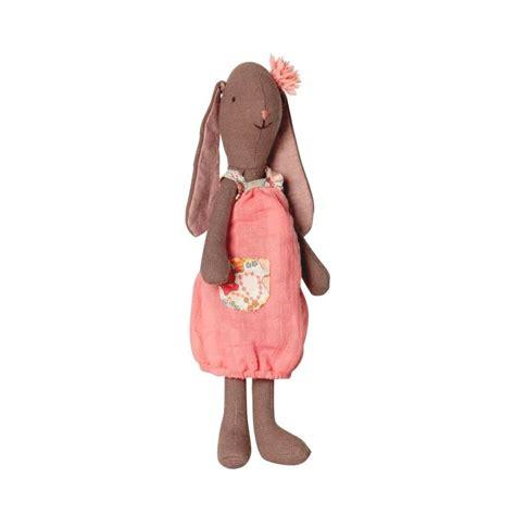 Fleuri Dress maileg mini fleurie bunny in coral dress
