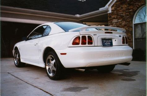 mustang specs 1996 ford mustang