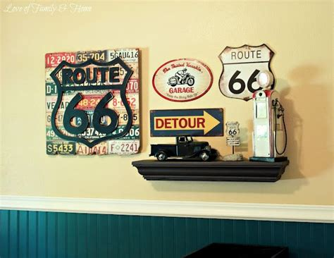Route 66 Bedroom Decor by Best 25 Route 66 Theme Ideas On Vintage Car
