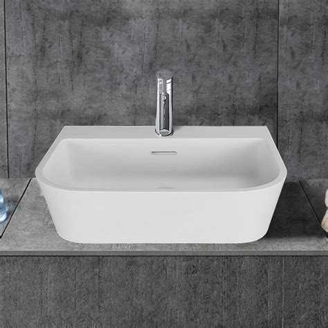 above counter bathroom sinks canada white rectangular artificial stone above counter bathroom