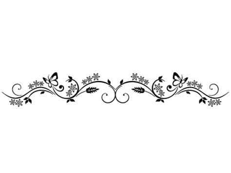 Stickers Frise Fleur De Campagne Design