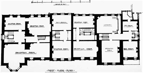 british house plans 18th century house floor plans