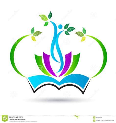 design a school logo free education logo stock vector image 60984808