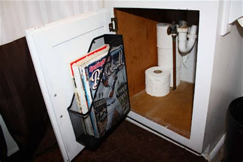 Bathroom Magazine Storage Superwoman Bathroom Organization