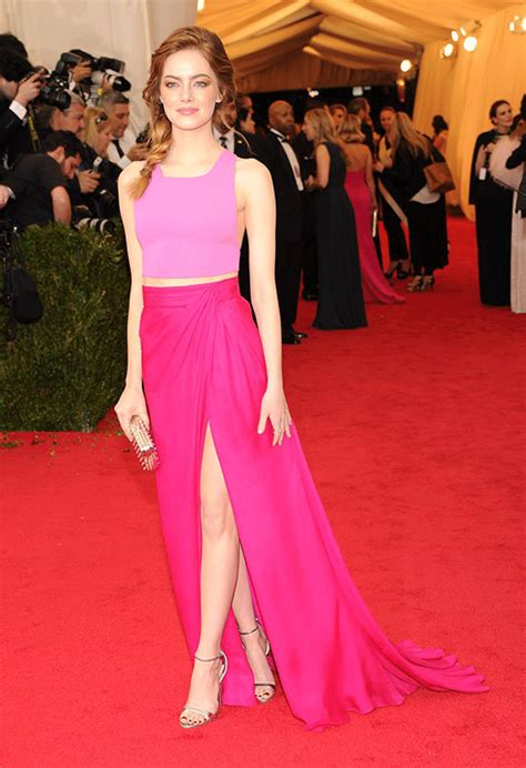 emma stone pink dress the 13 times emma stone amazed us at the red carpet