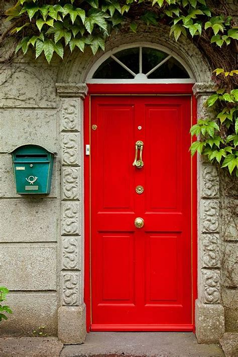 red front door to boost positive energy of your house red front door to boost positive energy of your house red