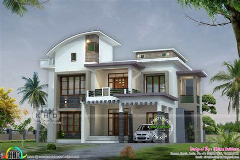 article with tag kerala beautiful homes plans