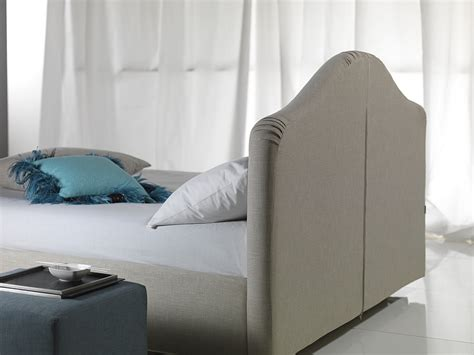 fabric for headboard covering double bed with removable cover with upholstered headboard