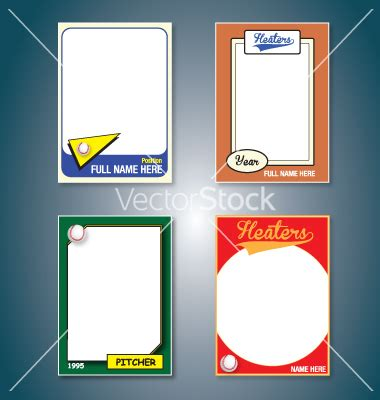 baseball card background template free vector card file page 1 newdesignfile