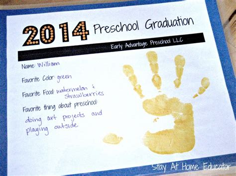 Modge Podge Crafts For Kids - preschool graduation on the cheap