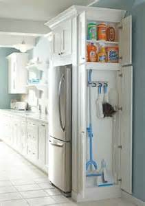 How To Clean Cabinets In The Kitchen Add A Cabinet To Any Dead Space In Your Kitchen Or Laundry Room For Cleaning Supplies Ikea Decora