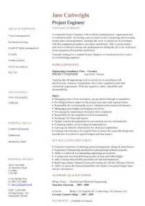 project control engineer resume latest resume format
