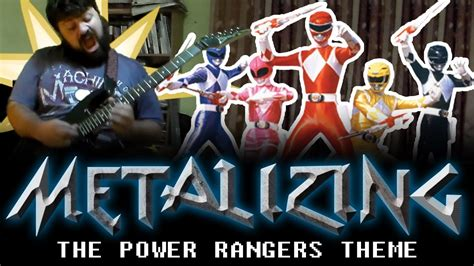 theme songs power rangers 01 metalizing the power rangers theme youtube