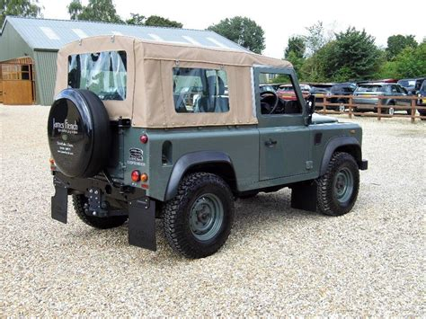land rover defender 90 soft top for sale used 2014 land rover defender 90 soft top conversion for