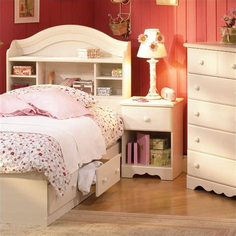 summer bedroom set south shore summer 3 bookcase bedroom set in 3210pkg