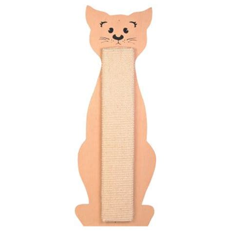 Trixie Scratching Board Beige Intl scratching post cat shape great deals on scratching posts