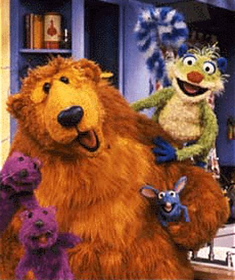 bear inthe big blue house live rick lyon bear in the big blue house