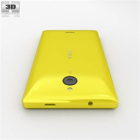 nokia x2 yellow themes nokia x2 yellow 3d model hum3d