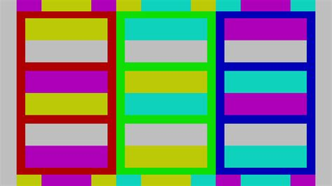 color pattern calibration how to calibrate your tv