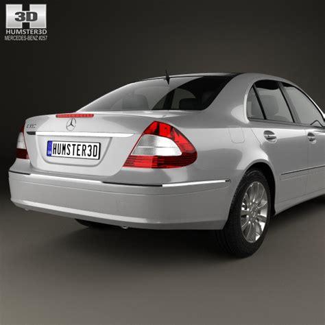 mercedes 2006 models mercedes e class w211 2006 3d model hum3d