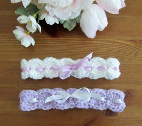 Handmade Headbands For Babies - crochet baby headband set handmade baby by thecomfybaby on