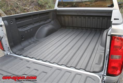chevy colorado bed liner 2015 mid size truck shootout colorado vs tacoma vs