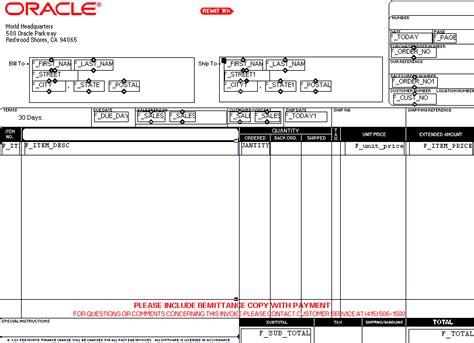 invoice report design 33 6 insert invoice information