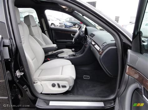 silver interior 2004 audi s4 4 2 quattro sedan photo