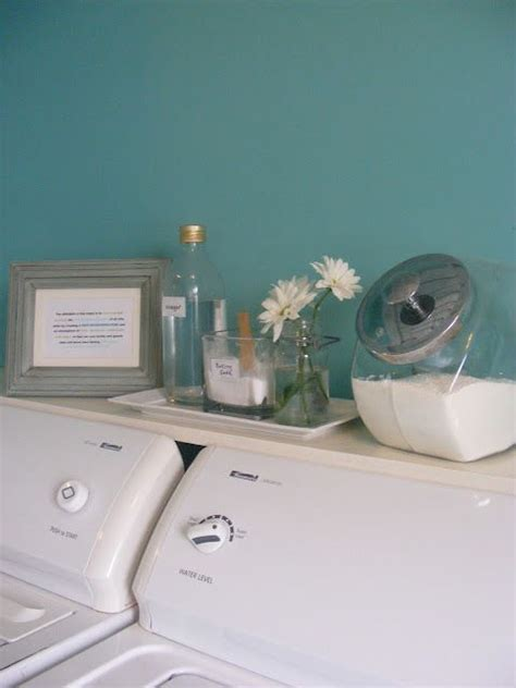 hide washer and dryer shelf above top load washer dryer definitely doing this
