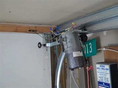 Garage Door With Less Than Zero Headroom Track Is 5 I Miracle Garage Door Opener