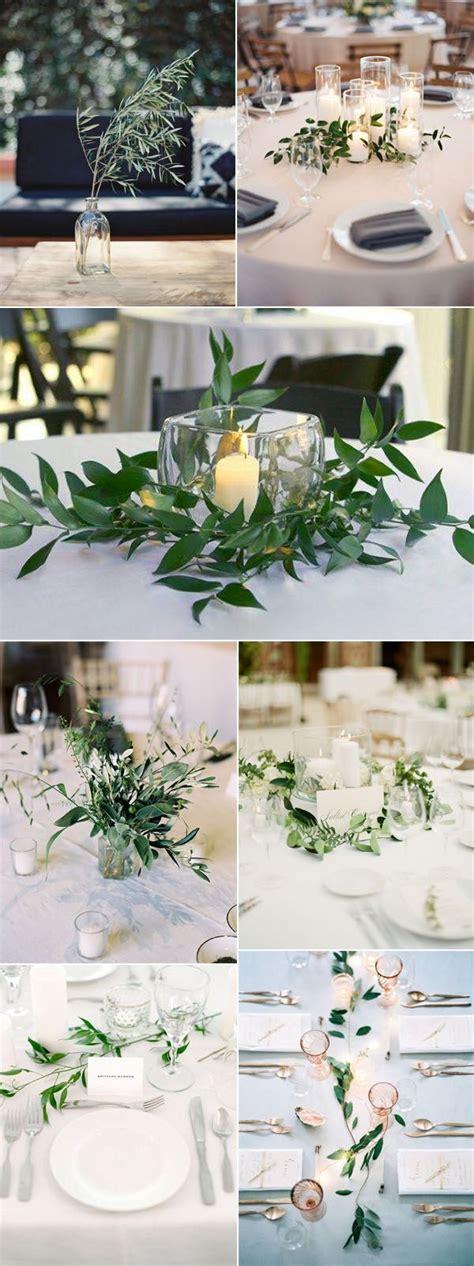 simple wedding table centerpieces best 25 greenery centerpiece ideas on simple
