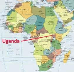 where is uganda on the world map 5x2a uganda dxcoffee