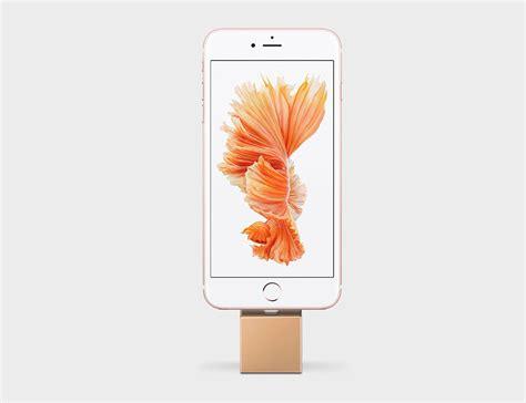 q iphone dock q minimalist iphone dock 187 gadget flow