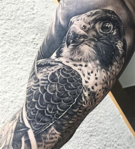 great falcon tattoo inkstylemag