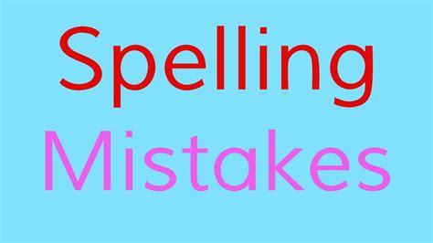 Spelling Of by The Spelling Mistakes Song