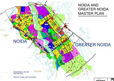 layout plan gama 1 greater noida noida and greater noida master plan greater noida industry