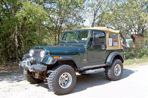 1984 Jeep Cj7 Sjcj7 1984 Jeep Cj7 Specs Photos Modification Info At