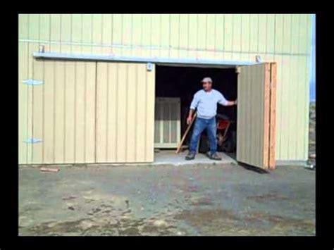 Bifold Garage Door Hardware by Bifold Shop Door Fallon