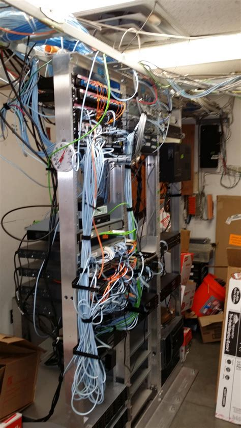 store server room at the largest home improvement chain
