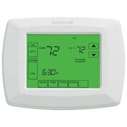 home depot thermostat 7 day universal touchscreen programmable thermostat