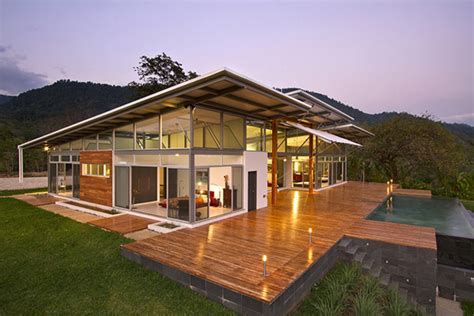 eco homes plans sustainable home in costa rica the most of its scenic landscape freshome