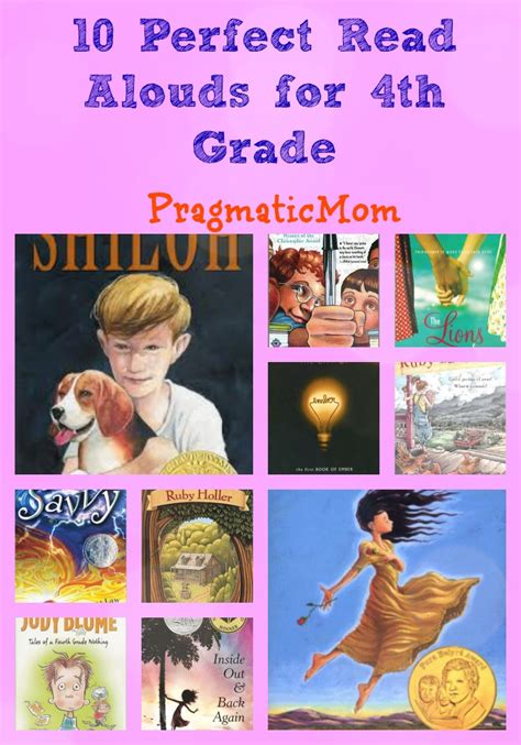 picture book read alouds for 5th grade 10 read alouds for 4th grade pragmaticmom