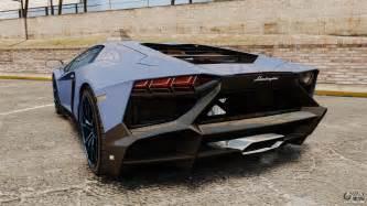 Gta Iv Lamborghini Lamborghini Aventador Lp720 4 50th Anniversario For Gta 4